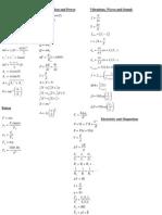 SPH3U Formula and Data Sheet