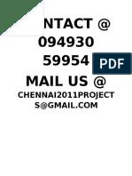 IEEE 2012 JAVA .NET TITLES