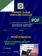Prinsip Dasar Radioterapi