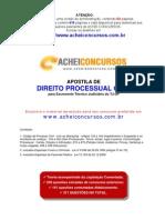 Apostila de Direito Processual Civil para Escrevente Técnico Judiciário do TJSP (2012)