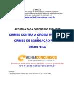 Apostila de Crimes contra a Ordem Tributária e de Sonegação Fiscal