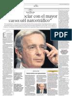 Entrevista Ex Presidente Alvaro Uribe