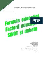 Formele educatiei
