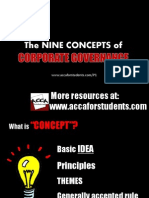 The 9 Concepts of Corporate Governance