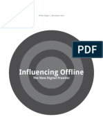 Influencing Offline - The New Digital Frontier - Google 2011