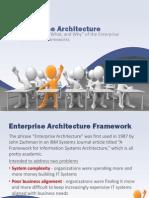 Selecting an Enterprise Architecture Framework_02!20!12v1.1