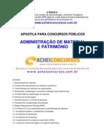 Apostila de Administração de Material e Patrimônio para Concursos