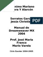 Manual Dreamweaver MX