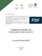 Turismul rural în Subcarpaţii Buzăului - Laurenţiu DINU Carte