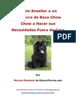 Como Enseñar a un Cachorro de Raza Chow Chow a Hacer sus Necesidades Fuera de Casa
