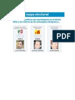 El Nuevo Mapa Electoral Ecuador 2013