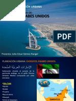 Planeación Urbana en Emiratos Árabes Unidos