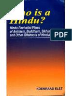 Who is a Hindu - Koenraad Elst
