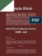 Material de Redacao Oficial QUESTOES