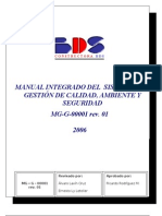 MANUAL DE GESTIÓN INTEGRADO