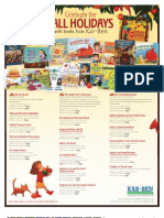Fall Jewish Holidays 2012 Products from Kar-Ben Publishing