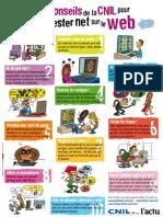 10 conseils de la CNIL pour rester net sur le web.