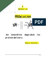 Seminar on Pegylation