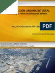Regeneración Urbana Integral en el Barrio de La Mina en Barcelona, España