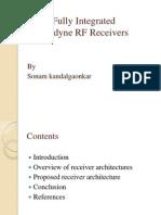 Cmos Fully Integrated Heterodyne RF Receivers