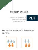 Mediciòn en salud - Razones, proporciones y tasas