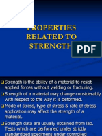 16.Properties Related to Strength