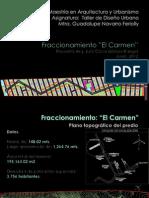 Fraccionamiento El Carmen Arq Julio C Gómez Rangel 2012