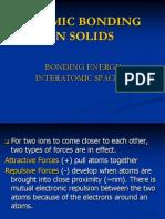 4. Bonding Energy
