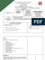 SECUENCIA DIDACTICA MATEMATICAS 3º H (2012-2013)