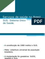 Serviços de saúde no Brasil