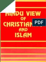 Hindu View of Christianityand Islam - Ram Swaroop