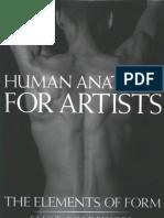 Human Anatomy for Artists