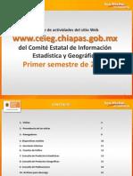 Reporte Sitio Web CEIEG 1er Semestre 2012