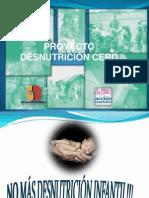 PRESENTACION  desnutrición 0