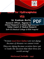 YES LSCS in Hydrocephalus