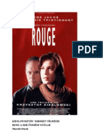 Kieslowski'nin Kırmızı Filminde Renk ve Işık Üzerine Notlar