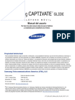 ATT SGH-i927 Captivate Glide Spanish User Manual