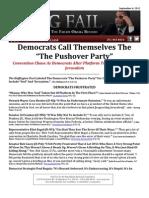 Democrat Reaction to DNC Platform Change
