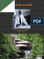 Casa de la cascada - Frank Lloys Wright