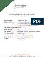 Especificaciones Para Cartilla APA