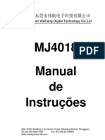 Manual Traduzido MJ 4018