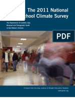 2011 National School Climate Survey