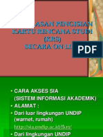ISI-KRS-ON LINE