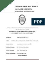 CONTROL DE CALIDAD DE CASCARA DESHIDRATADA Y EMPAQUE DE LIMON PARA EXPORTACION