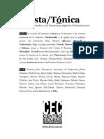 Revista Tónica 4