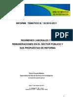 Sistema de Remuneraciones Sector Publico