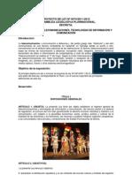 PROYECTO DE LEY Nº 0474