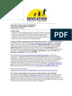 Newsletter September 6 2012