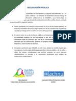 Declaración_ACHNU-ROIJ_abril_2012