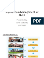 Supply Chain Management of AMUL